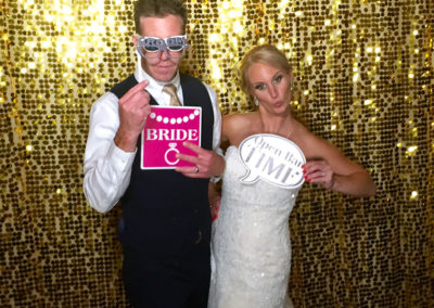 Bride-&-Groom-Gold-Backdrop-&-Props