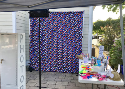 Pool Party & Popsicle Backdrop (Village 2 Swim & Tennis Club)